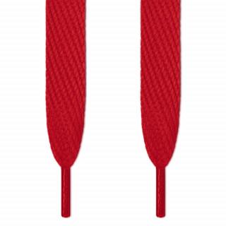 Super brede rode schoenveters