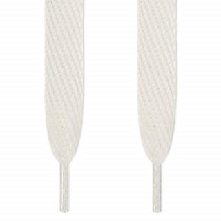 Super brede witte schoenveters