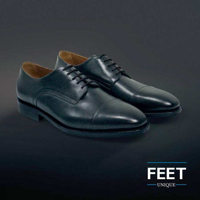 Dunne ronde zwarte schoenveters