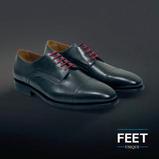 Dunne ronde rode schoenveters