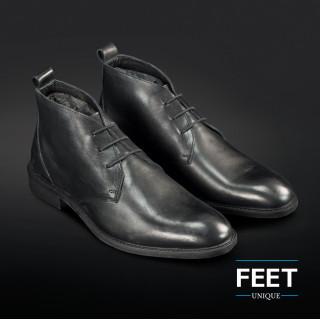 Zwarte ¨Strikloze¨ schoenveters voor nette schoenen