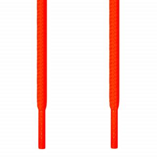 Ronde fluo oranje schoenveters