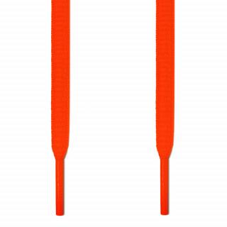 Ovale fluoriserend oranje schoenveters