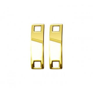 Goud schoenveter-charms