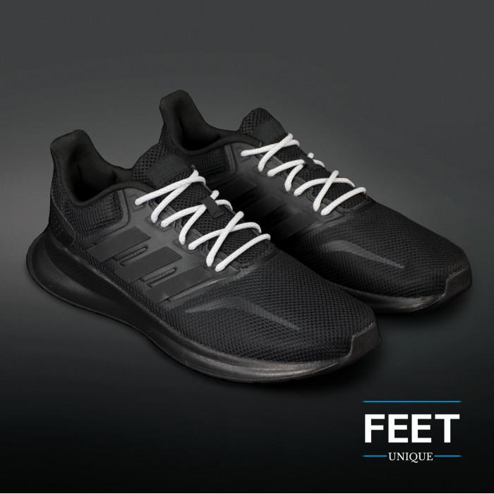 Adidas Yeezy - Schoenveters Licht Grijs met Wit